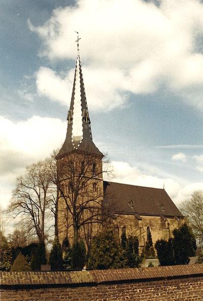 De kerk van Baerl.