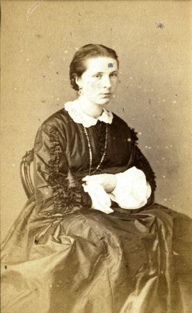 Nog een foto van Marie uit het archief van de Van Boetzelaers.