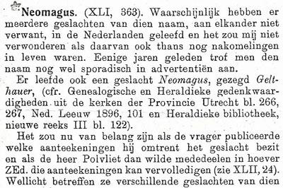 Bericht in De Nederlandsche Leeuw in 1924.