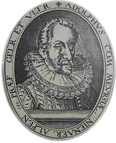 Afbeelding van graaf Adolf von Neuenahr.