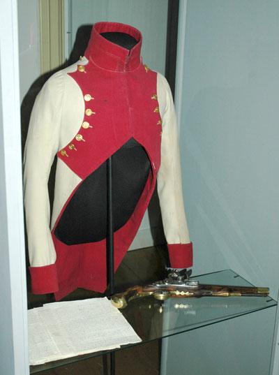 Uniform van de leden van de Keizerlijke Garde.