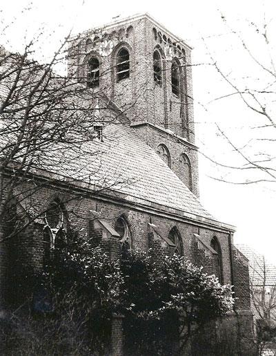 De kerk van Kervenheim, Johannes' eerste standplaats.