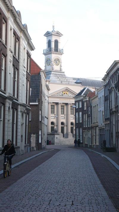 De Kerksbuurt in Dordrecht.