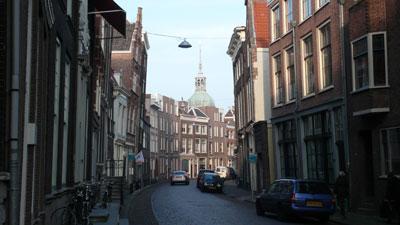 De Wijnstraat in Dordrecht.