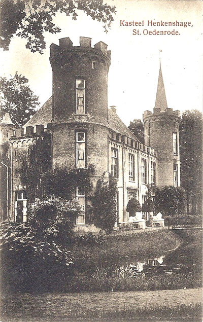 Op kasteel Henkenshage in Sint-Oedenrode woont vanaf 1789 Aernoldina Roosendael, dochter van Jacoba Neomagus. Haar man Benjamin de Brueys is raadsheer in het Hof van Utrecht, lid van het Keizerlijk Hof van Appel en lid van het Hooggerechtshof in 's Gravenhage. In april 1940 hebben de erfgenamen van de laatste bewoner, Theodoor van Gulick, het kasteel met bijgebouwen verkocht aan de gemeente.. Het is nu een feest- en trouwlocatie.