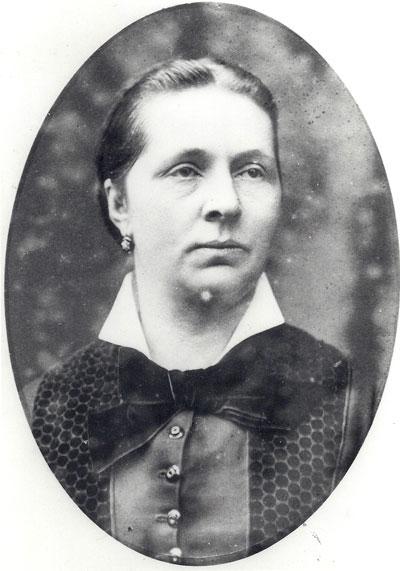 Marie Neomagus, foto uit het familiearchief Van Boetzelaer.