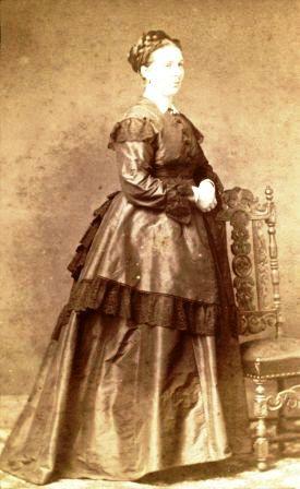 Foto van Marie uit het familiearchief Van Boetzelaer.