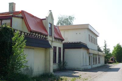 Het vroegere douanekantoor Wernhoutsburg.