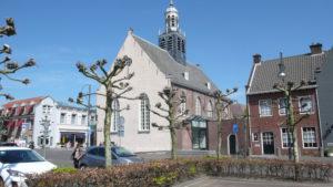 Het trouwkerkje in Leur, voorheen de protestantse kerk.