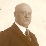 Bertus in 1924, kort voor zijn overlijden.