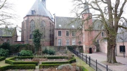 Nog een foto van de vroegere universiteit van Harderwijk.