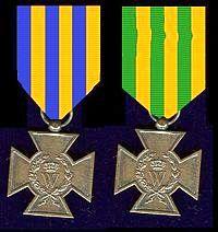 Het Metalen Kruis voor deelname aan de Tiendaagse Veldtocht.