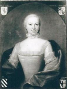 Portret van Antoinette van Brienen, in kasteel Sypesteyn bij Loosdrecht.
