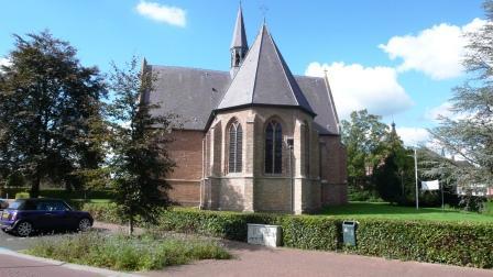 De protestantse kerk van Chaam.
