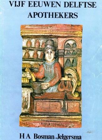 Het boek over de Delftse apothekers.