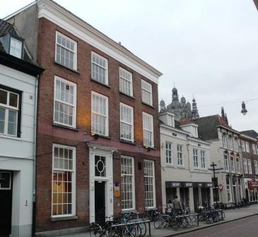 Het huis in 's-Hertogenbosch waar Johanna Neomagus kamenier is.
