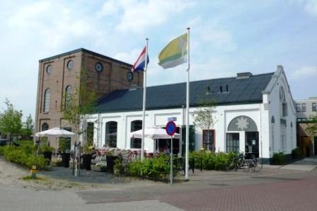 De voormalige zeepziederij aan de haven van Leur, in 2014 een restaurant.