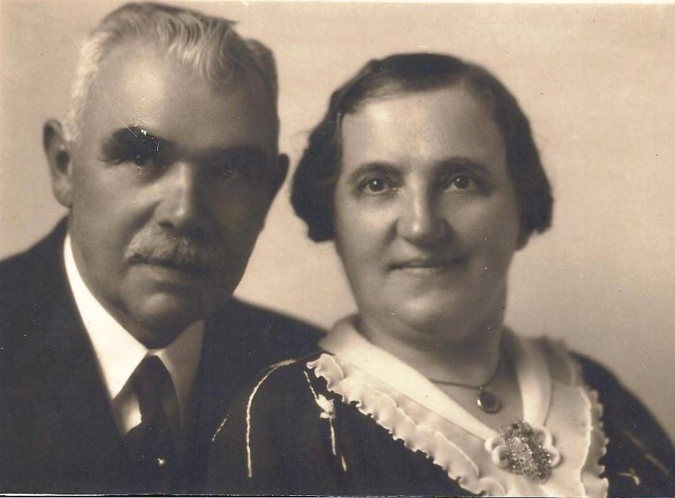 Victor Neomagus en Anna Baudoin.