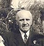 Eugène in 1953 bij de gouden bruiloft van zijn broer Victor in Putte.