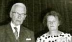 Mien en Hendrik, getrouwd in 1946.