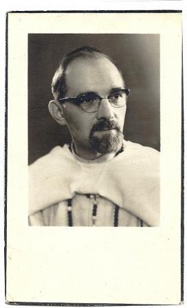 Bidprentje van Frits, overleden op 24 mei 1964.