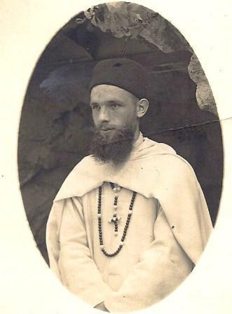 Priesterstudent Frits in Algerije.