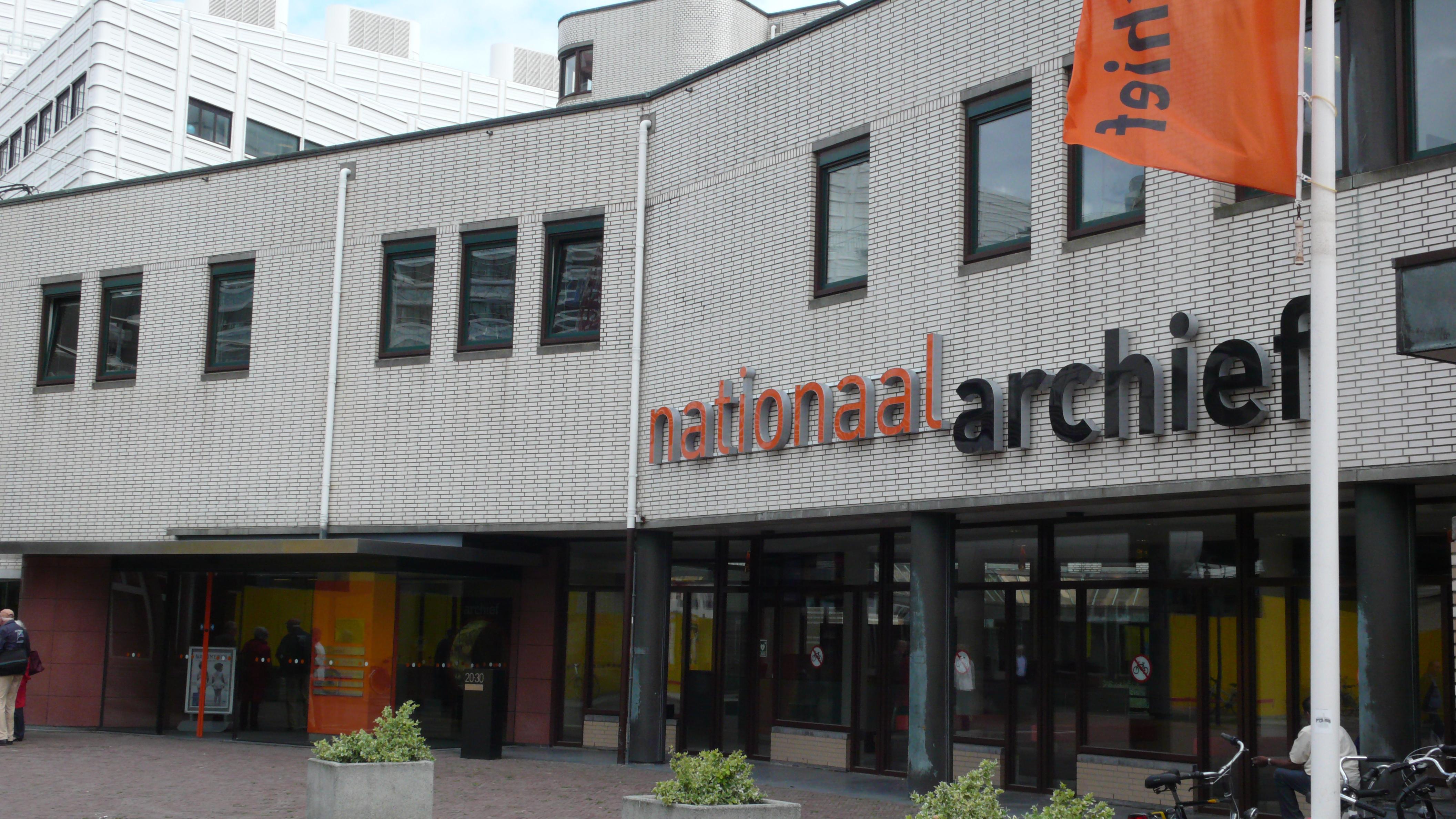 Het Nationaal Archief waar gegevens over Louis Neomagus te vinden zijn.