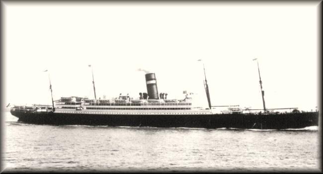 De Nieuw Amsterdam waarmee Victor in 1927 naar Amerika gaat.