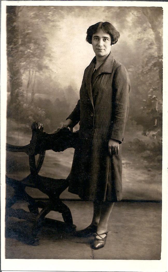 Emma Neomagus eind jaren '20.