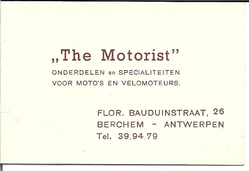 Zakenkaartje van Cor Neomagus.