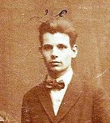 Leo in 1924 (uitsnede uit een gezinsfoto).