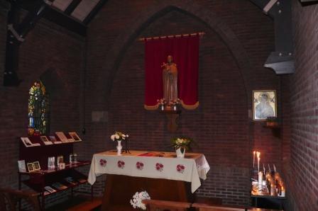 Kapel in Bosschenhoofd, gewijd aan Clemens Maria Hofbauer
