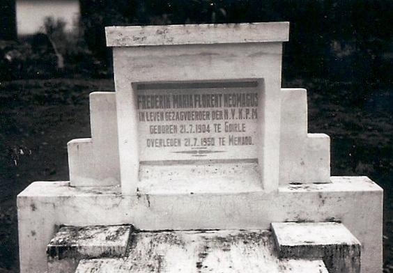 Graf van Frits in Menado.