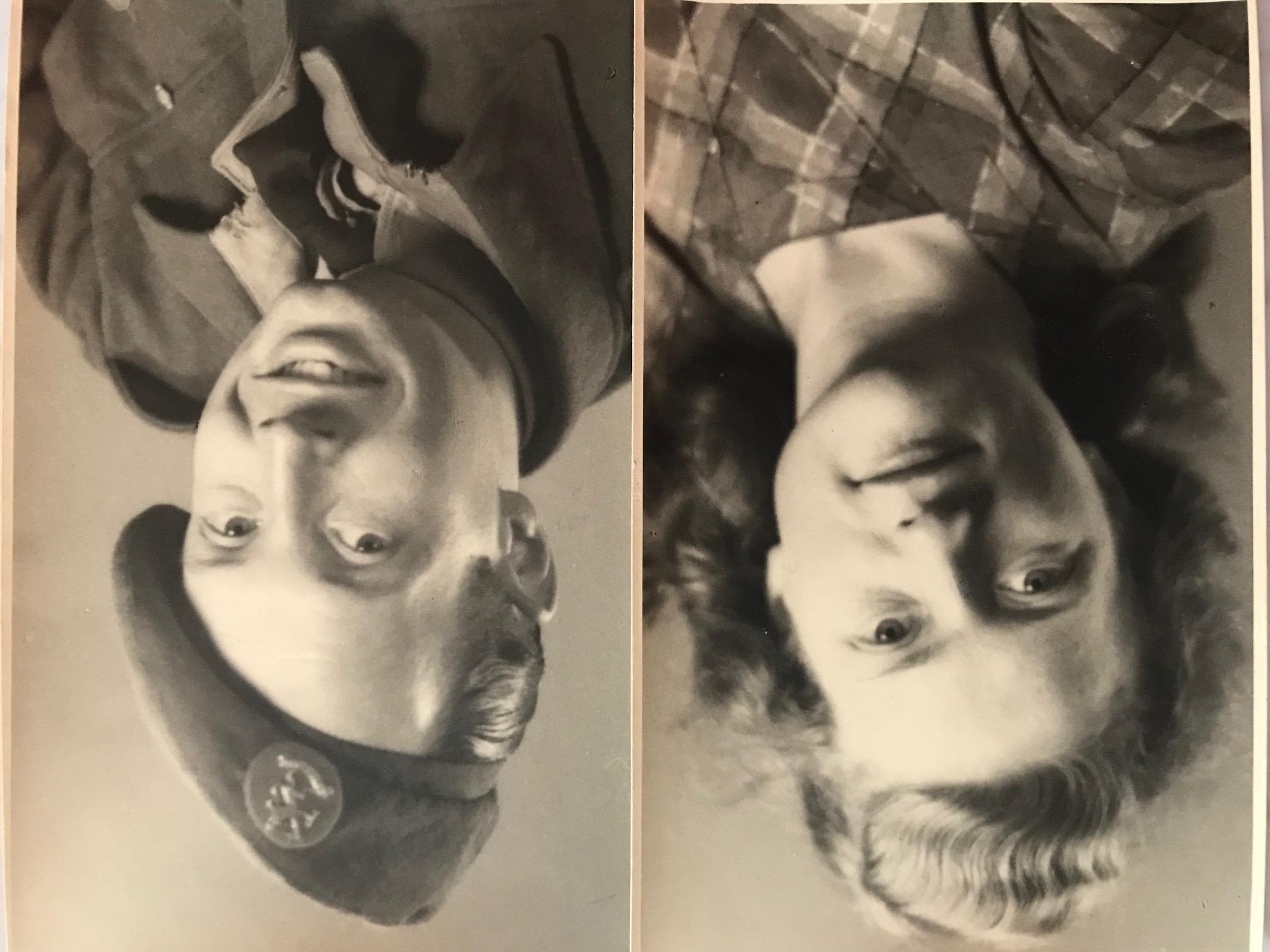 Guus en Mijnie omstreeks 1945.