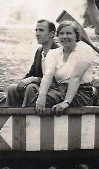 Pierre en Anna, eind jaren dertig.