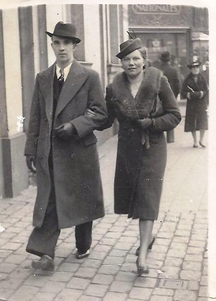 Pierre en Anna, datum onbekend.