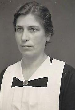 Wijkverpleegster 'zuster Gerda' in Aalsmeer.