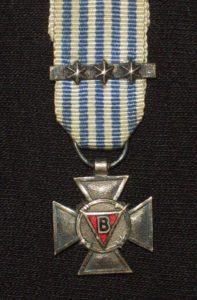 Bij Koninklijk Besluit van 8 mei 1951 is het Kruis van Politieke Gevangenen 1940-1945 postuum toegekend aan George Eriksson.