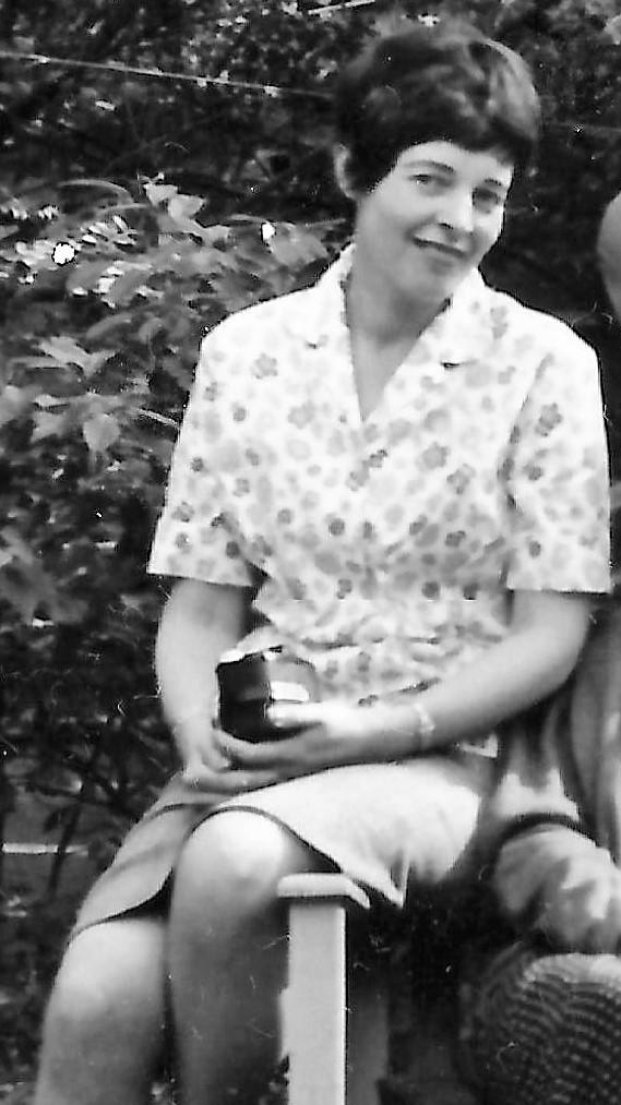 Heleen Neomagus in 1964.