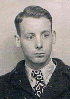 Kees op een pasfoto in 1948.